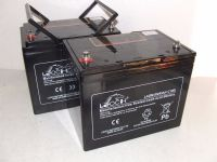 2x Leoch LAGM-85 - 12v 85ah AGM Leisure / Mobility Batteries